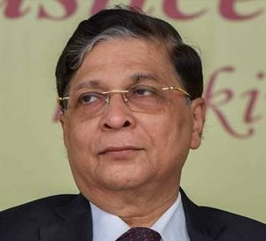 Hon'ble Mr. Justice Dipak Misra, The Then Chief Justice of India