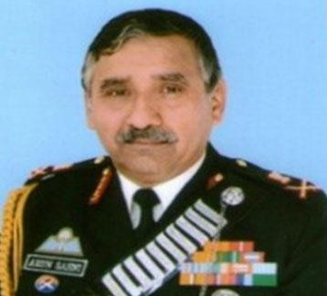 Lt Gen Arun Kumar Sahni
