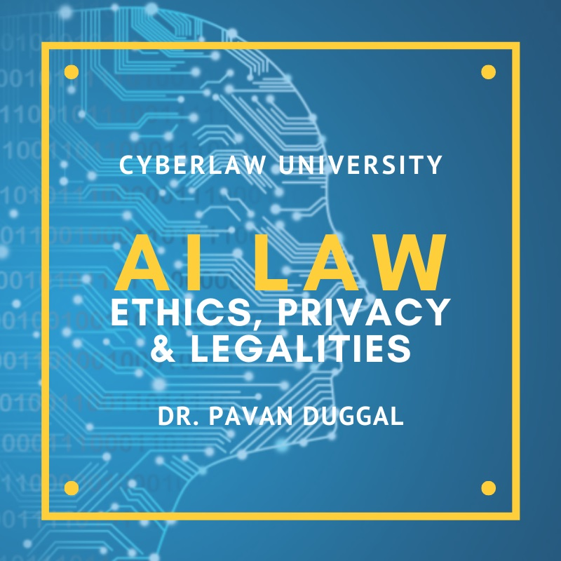 AI Law, Ethics, Privacy & Legalities