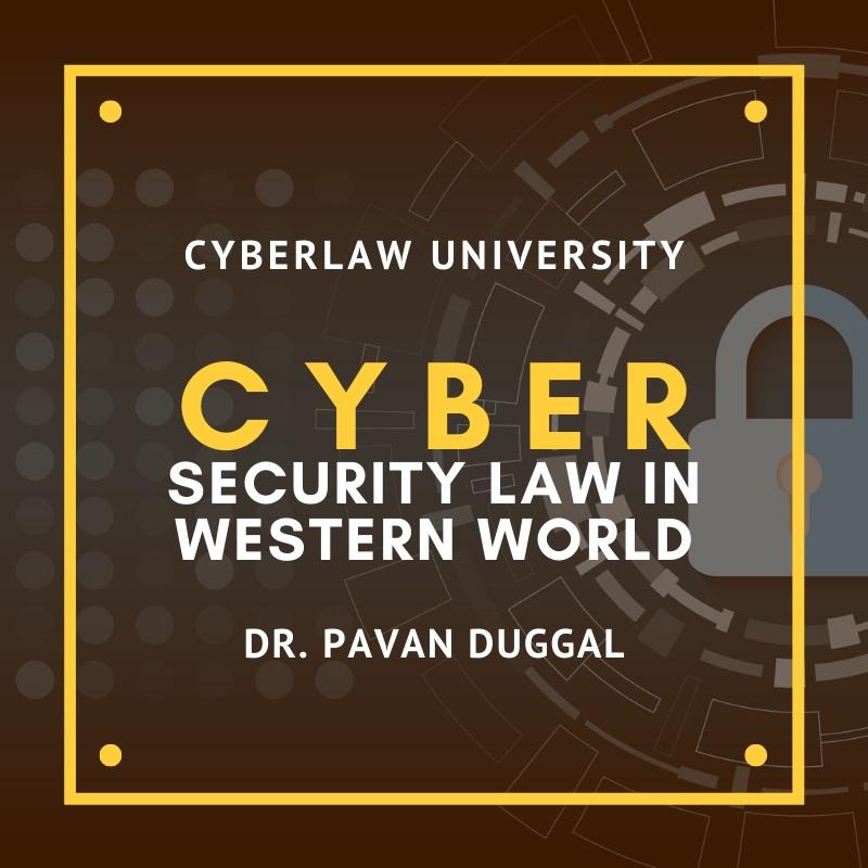 Cybersecurity Law In Western World
