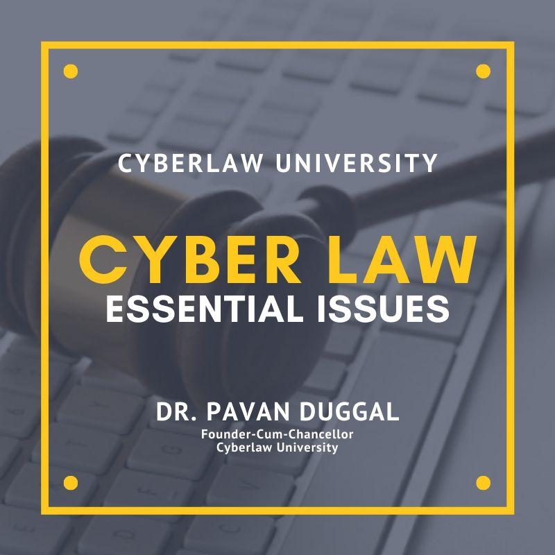CYBER LAW – ESSENTIAL ISSUES