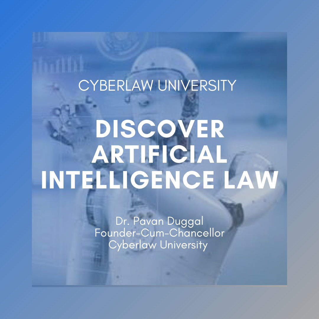 DISCOVER ARTIFICIAL INTELLIGENCE LAW